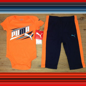 Puma Baby Boys Set Size 3-6 Months New